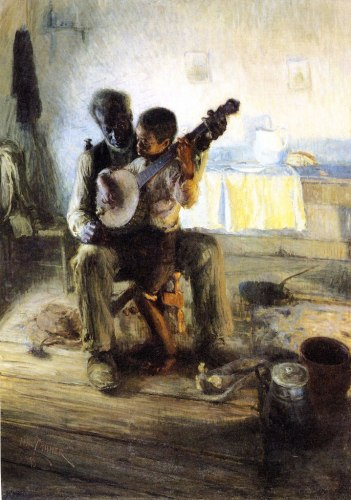 The Banjo Lesson, 1893