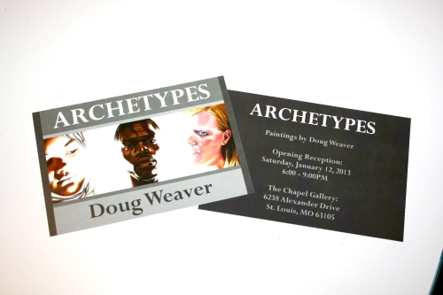 Archetypes Print Invitations