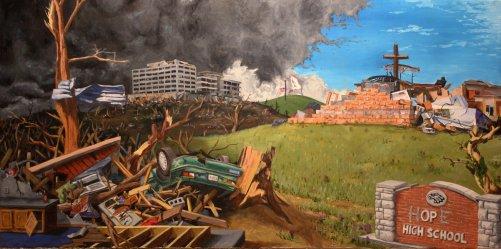 Hope for Joplin - Oil on canvas