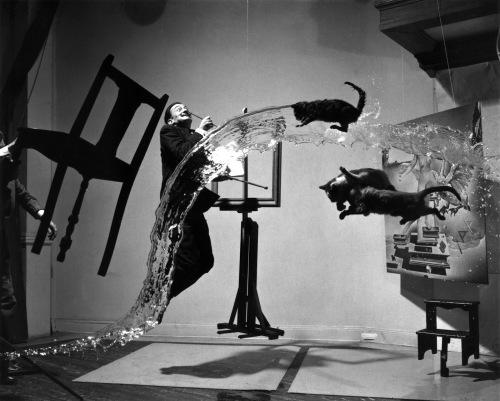 Salvador Dali in his studio - Who knows?